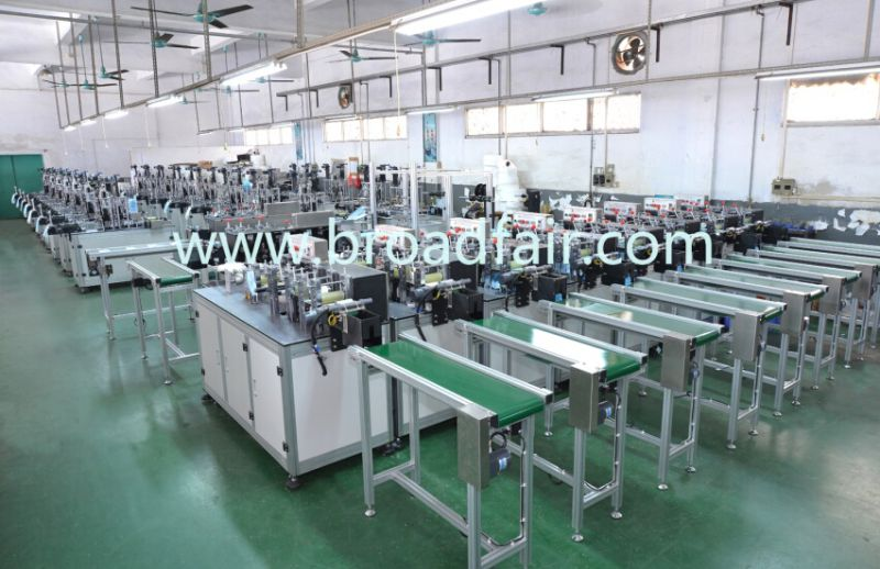 Dust Mask Aluminum Nose Wire Pasting Machine (BF-20mA)