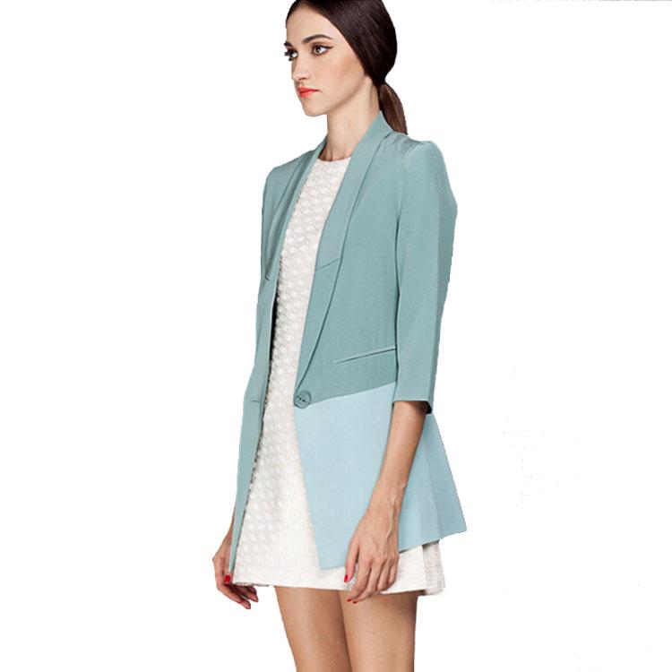 Women Fashion Half Sleeve Casual Coat