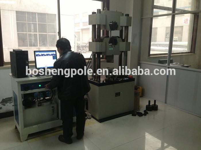 Galvanized Electricity Transmission Steel Pole