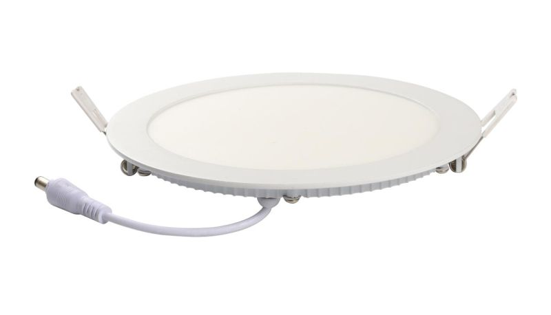 ETL 12W 1000lm Round LED Panel Light