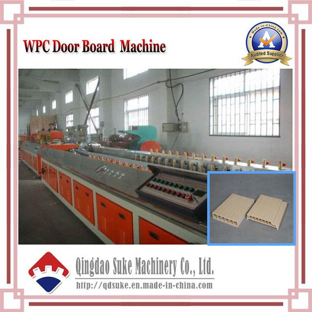 WPC Wood Plastic Door Board Extrusion Machine Line