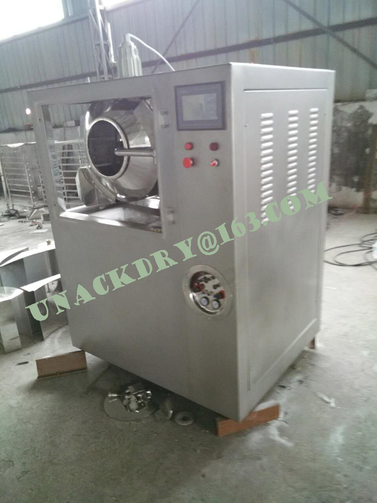 GMP Standard Tablet Coating Machine for Pharmaceutical