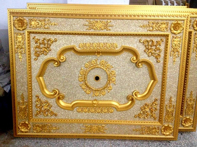 Lightweight PS Material Artistic Ceiling Paneling Lowes Price Cheap Interior Decorative