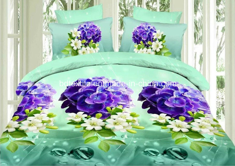 Popular 3D Polyester Microfiber Brushed Two Sides for Home Textile