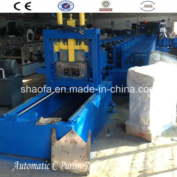 C and Z Purlin Roll Forming Machinery (AF-C80-300)