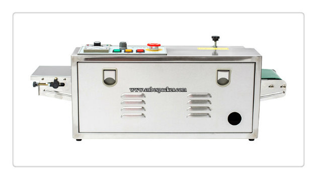 Aluminum Foil Bag Continuous Sealer Sealing Machine with Coder