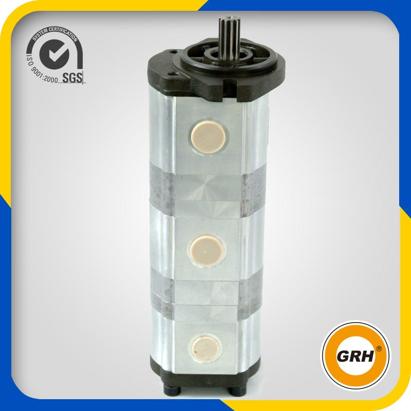 Construction Machinery Hydraulic Oil Triple Gear Pump for Excavator (CBJ2050/2040/2032)