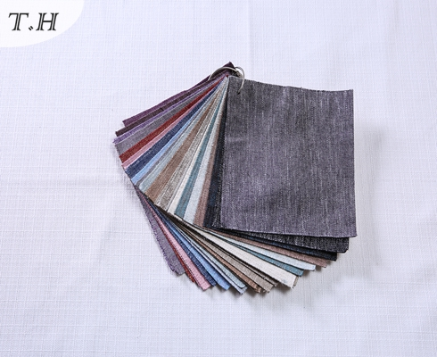 Office Chair Fabric Linen Fabric in Tongxiang Factory