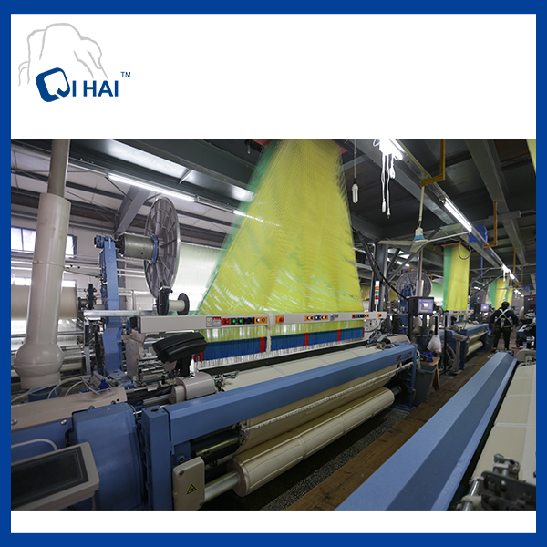 100% Pakistan Cotton Yarn White Towel (QHB99815)