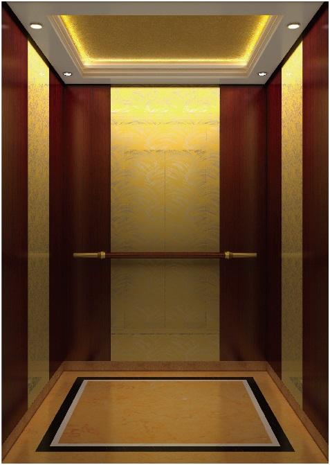 Passenger Elevator Lift Mirror Etched Mr & Mrl Aksen Hl-X-006