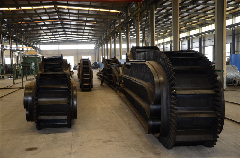Large Angle Sidewall Belt Conveyor Belt