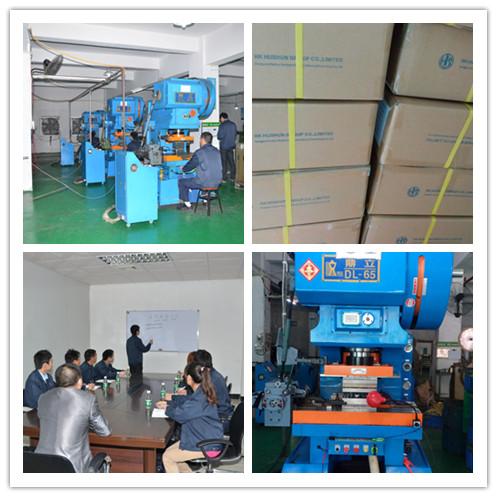 OEM ODM Metal Punched Stamping Parts Bracket, Transmission Parts (HS-LF-0010)