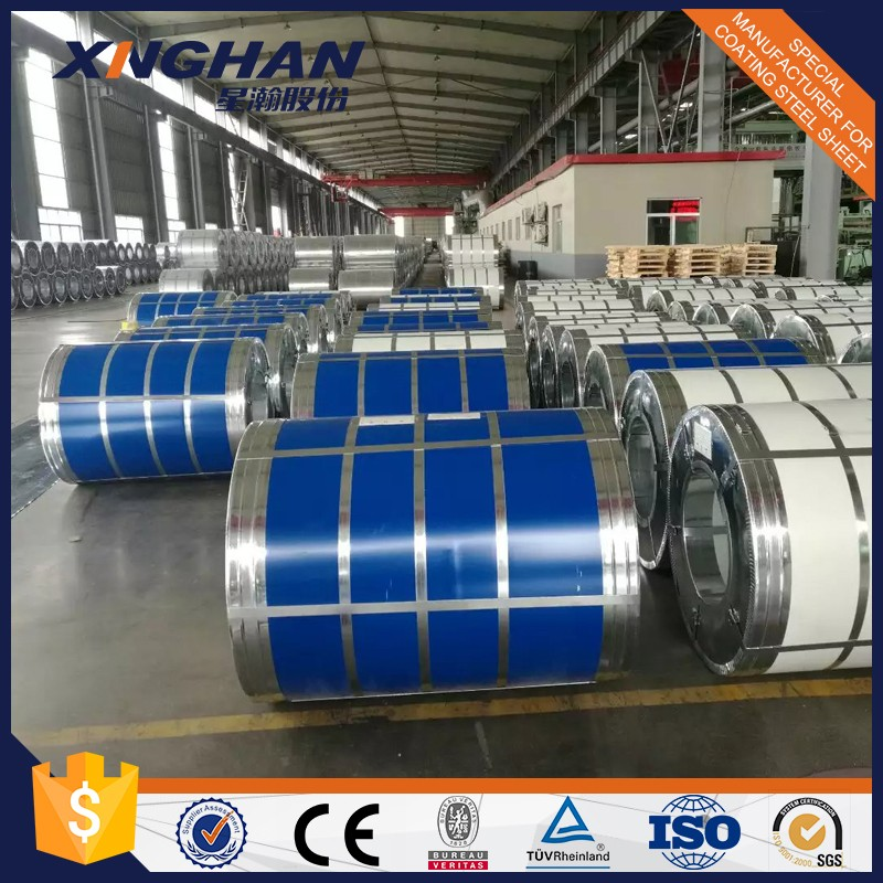 Roofing Materials Prepainted Galvanized Color Coated Steel Coil PVDF