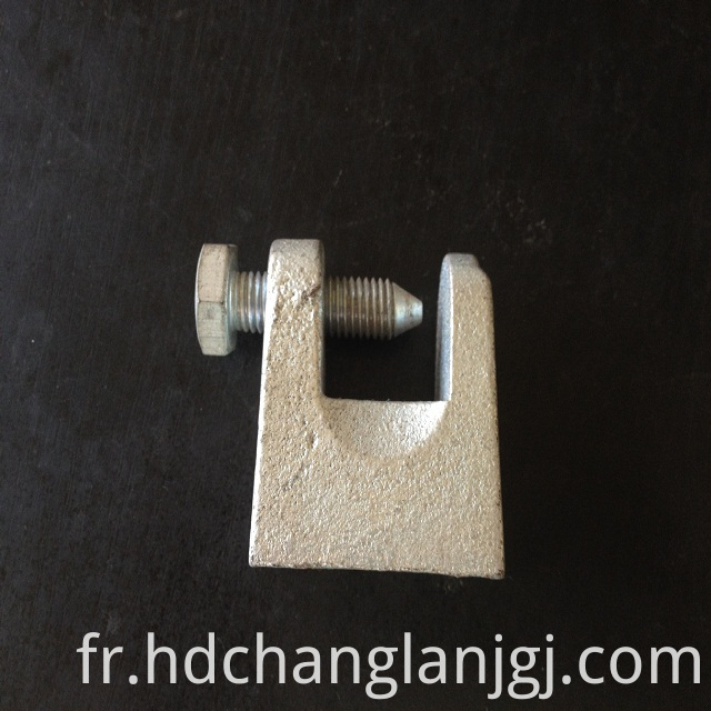 Square Shape Tiger mouth clip