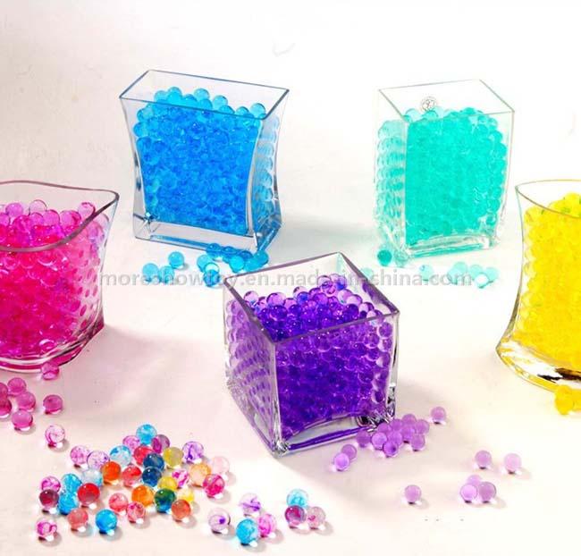 Crystal Soil Black Gel Jelly Ball Water Pearls Wedding Decoration