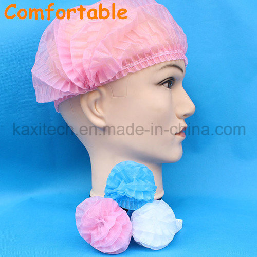 Disposable Non Woven Mob Cap for Medical and Food Processing