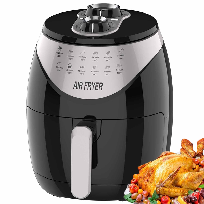 Big Power No Oil Air Fryer