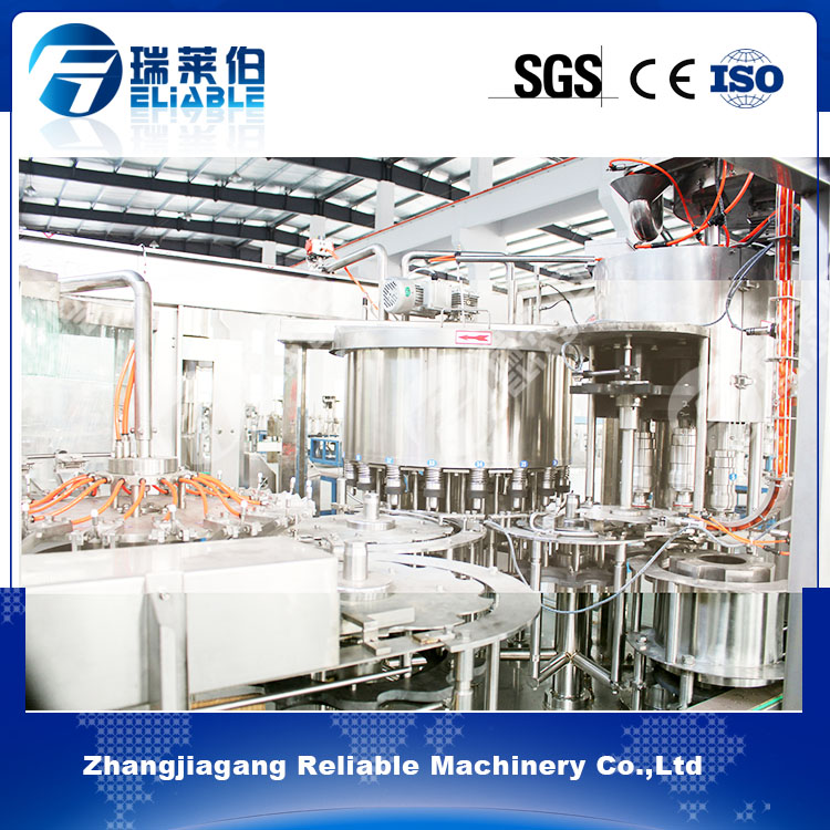Zhangjiagang Energy Drink Automatic Processing Filling Bottling Machine