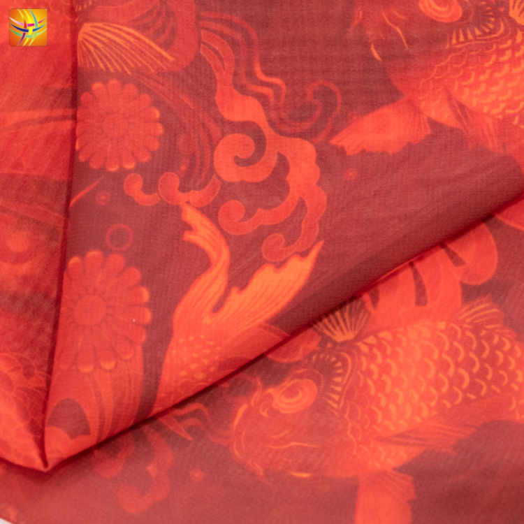 Polyester Soft Chiffon Fabric