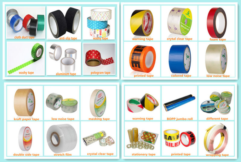Easy-Teared Rubber Adhesive Duct Tape