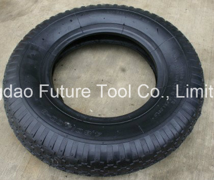 4.00-8 Wheelbarrow Tyres and Tubes Made in China
