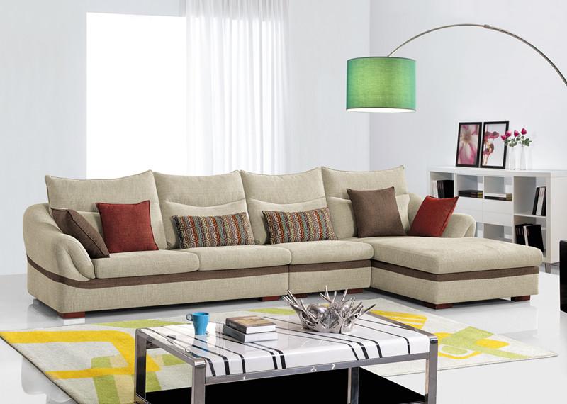 Modern Living Room Furniture Fabric Corner Sofa