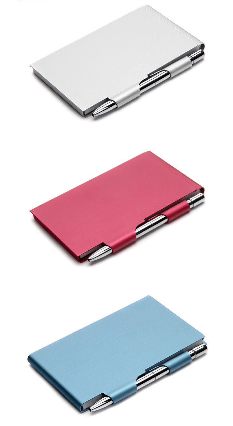 Memo Pad Holder with Paper for New Year Gifts
