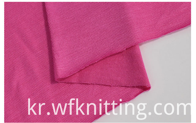 Pure Color Rayon Knit Fabric