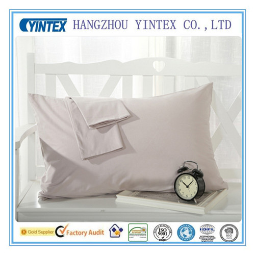 China Supply Plain Dyed Custom Pillow Case for Home