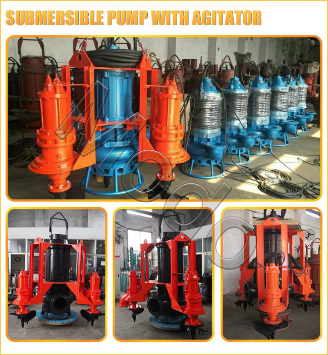 2inch Abrasive Solids Submersibel Slurry Pump with Cable
