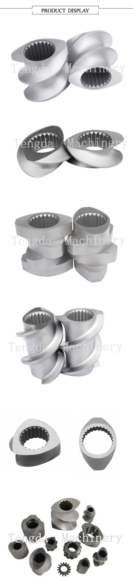 Precise Processed Screw Component for Tenda Plastic Machine