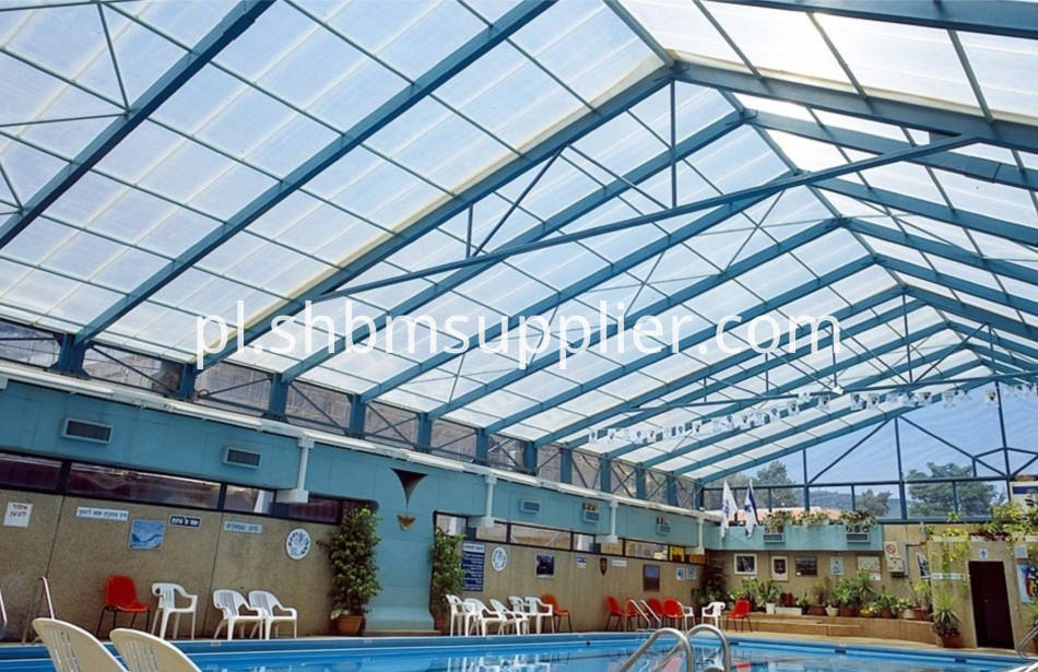 Fiberglass skylight roof panel