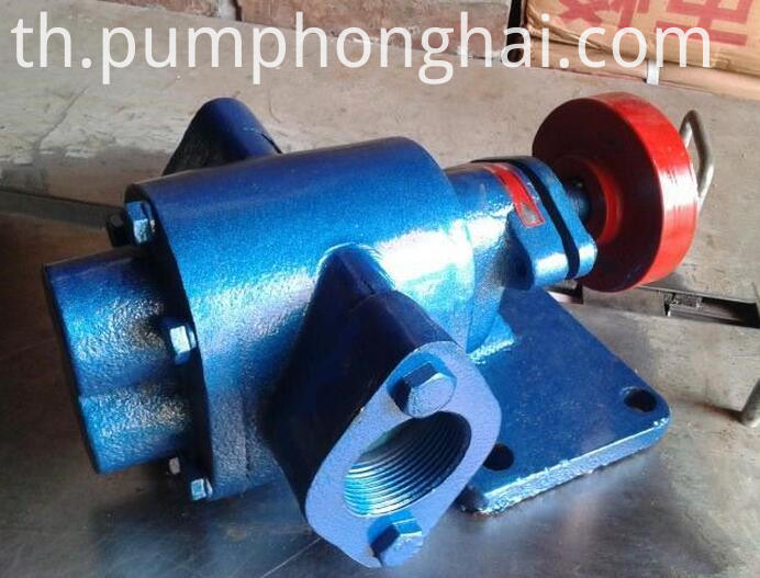 ZYB series electric waste oil gear pump