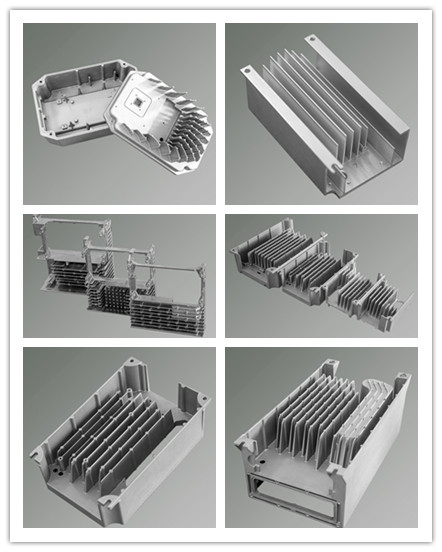 Die Casting Supplier Aluminum Heat Sink Cover for Integrated Machine