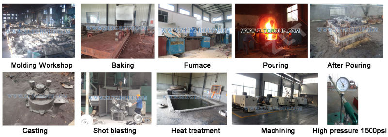 Sand Castings with Iron Stainless Steel Material