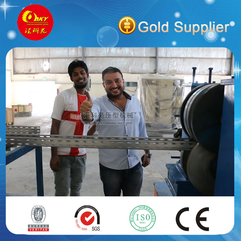 Hky Full Automatic Adjustable C Channel Roll Forming Machine