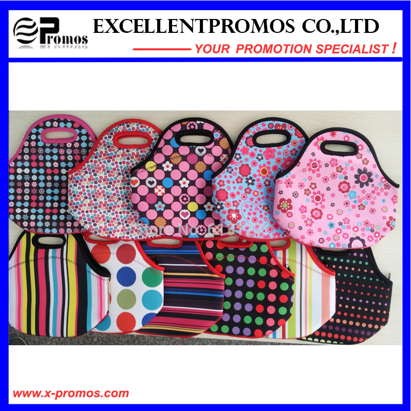 Fashion Colorful Neoprene Lunch Tote Bag for Adult (EP-NL1602)