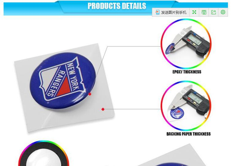 Epoxy Labels Epoxy Sticker Crystal Logo OEM High Grade Waterproof Soft Crystal Sticker Label with Fast Lead Time