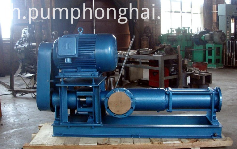 Selfprimg slurry screw pumps
