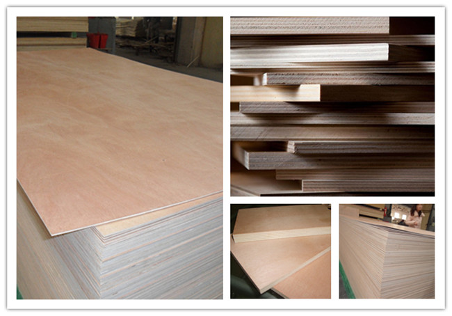 China 4'x8' Marine Bb/Bb or BB/CC Grade Commercial Okoume Plywood