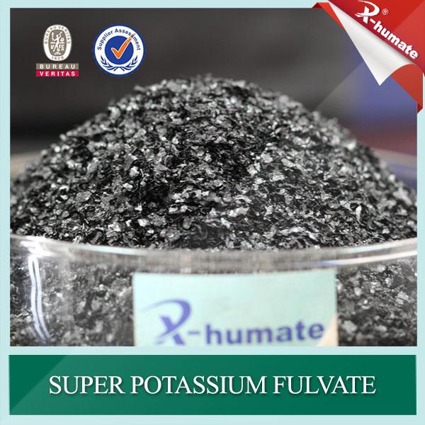 X-Humate F100 Super Potassium Fulvate Shiny Flakes