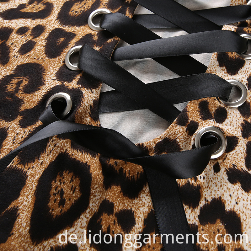 New Leopard Print Design Bodysuit