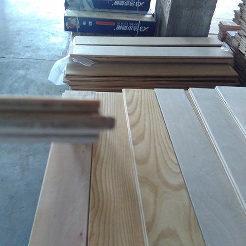 White Ash Engineered Wood Flooring Embossed