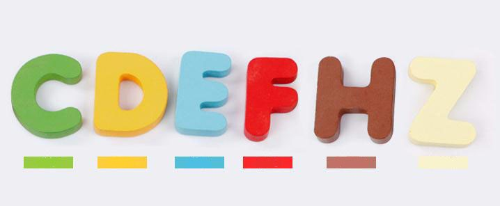 Alphabet Puzzle Educational Toys