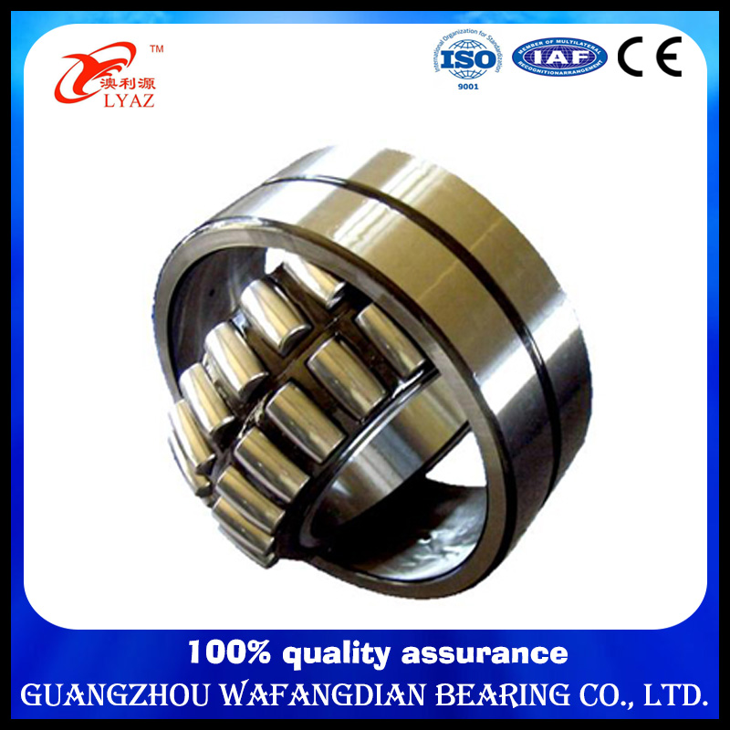 High Precision Caged Spherical Roller Bearing 22317 22318 22219