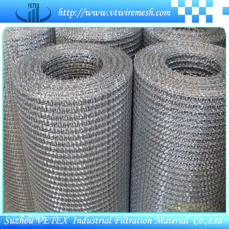 Square Wire Mesh Used as Fence or Filter