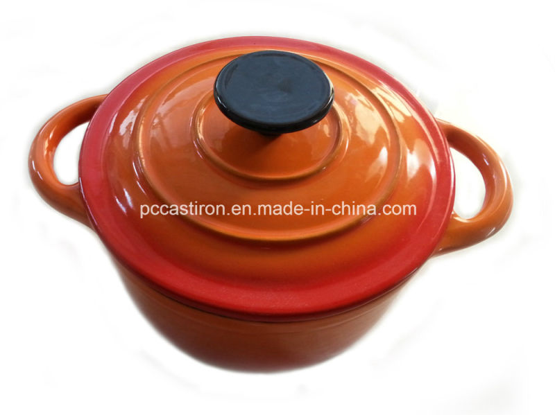 Green Cast Iron Cookware with Enamel Finishing China Factory