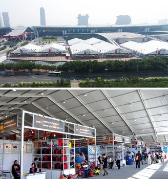 40X100m Big Exhibition Tent for Exhibition and Trade Fair