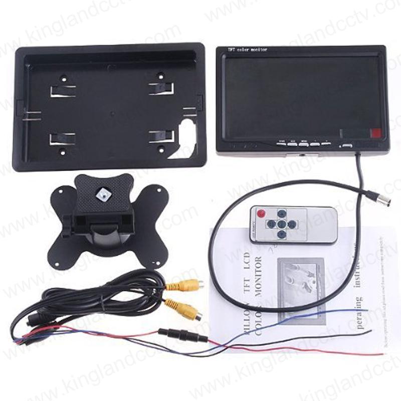 7 Inches LCD Digital Screem Reversing Headrest Rearview Monitor