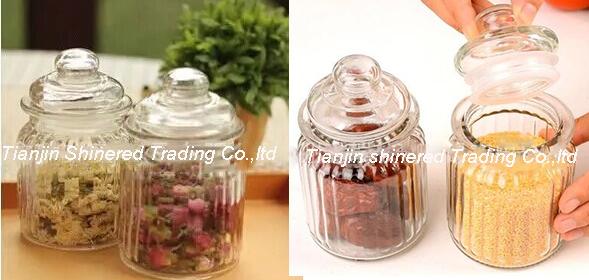 Kitchen Glassware Storage Bottle Glass Jar